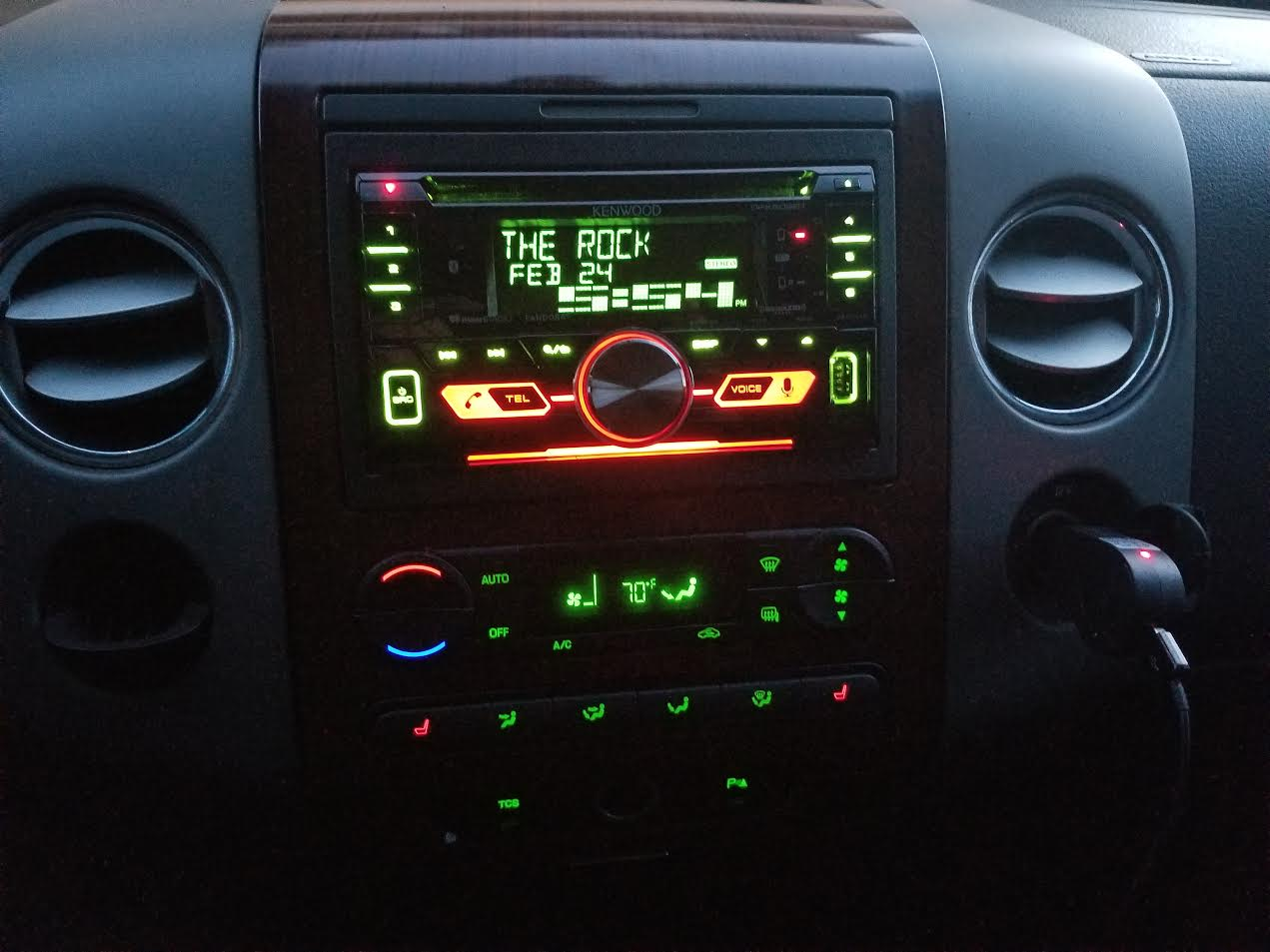 Kenwood DPX502BT CD receiver at Crutchfield