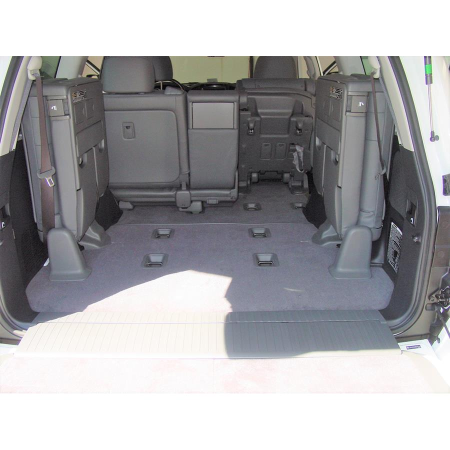 2011 Toyota Land Cruiser Cargo space