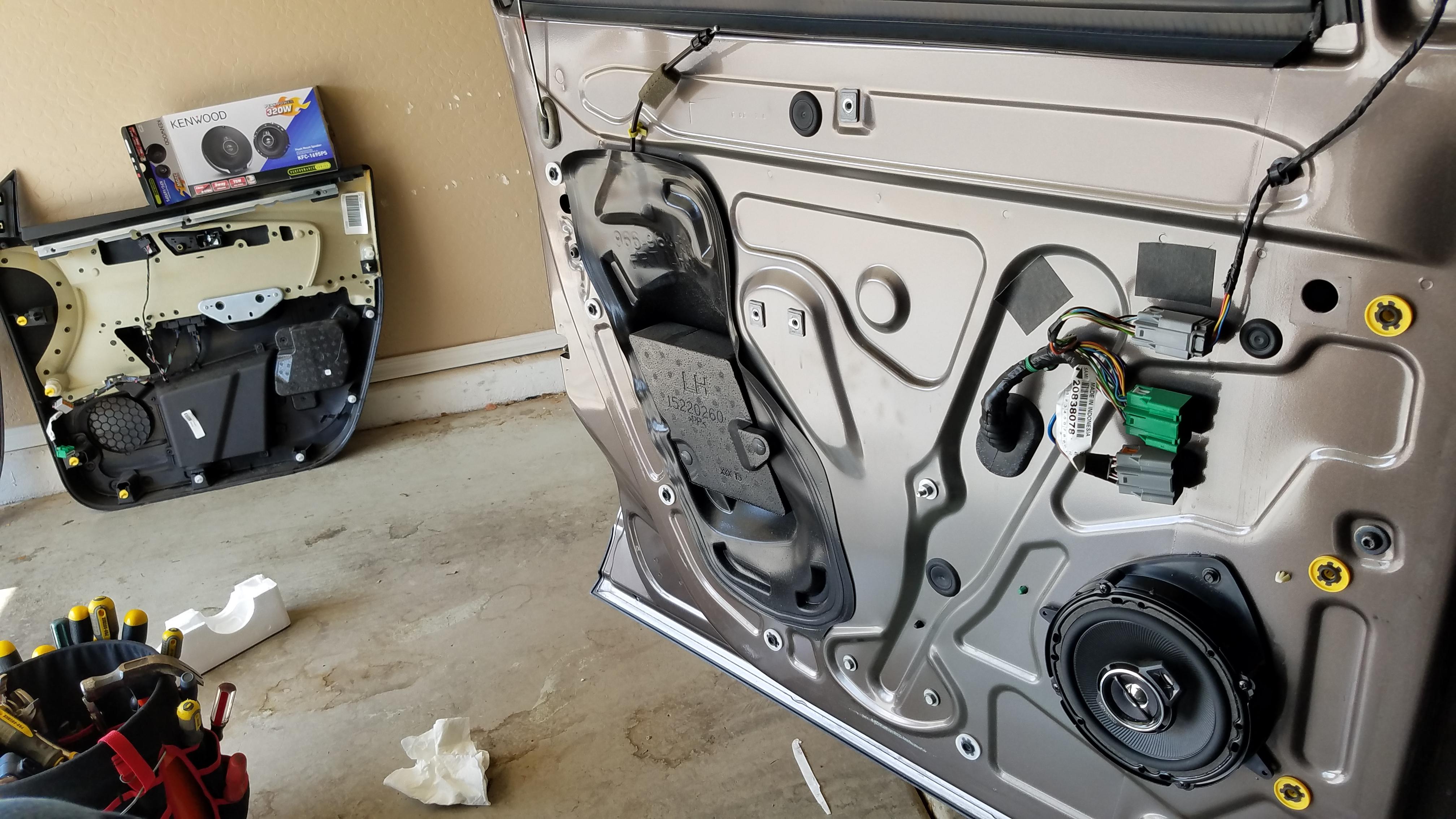 Scosche SAGMHR-634 Speaker Mounting Brackets Install 6-1/2