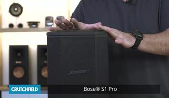 Video: Bose S1 Pro portable PA system