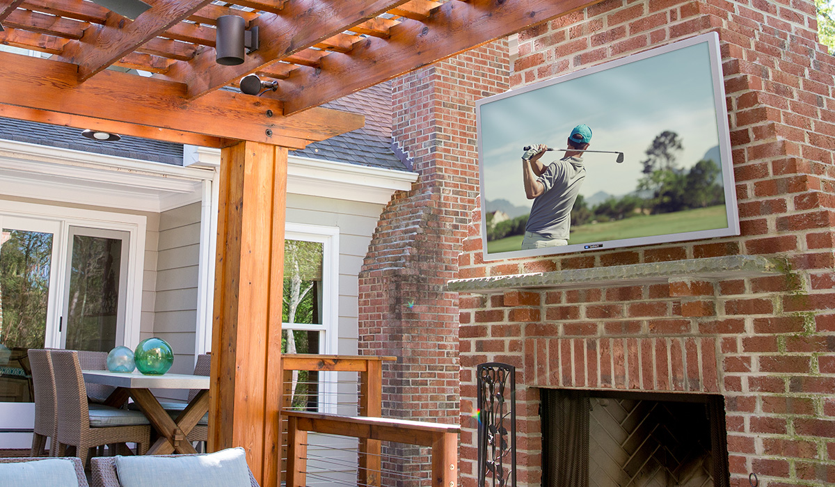 How To Choose And Install An Outdoor Tv Wiring Through Outside Wall