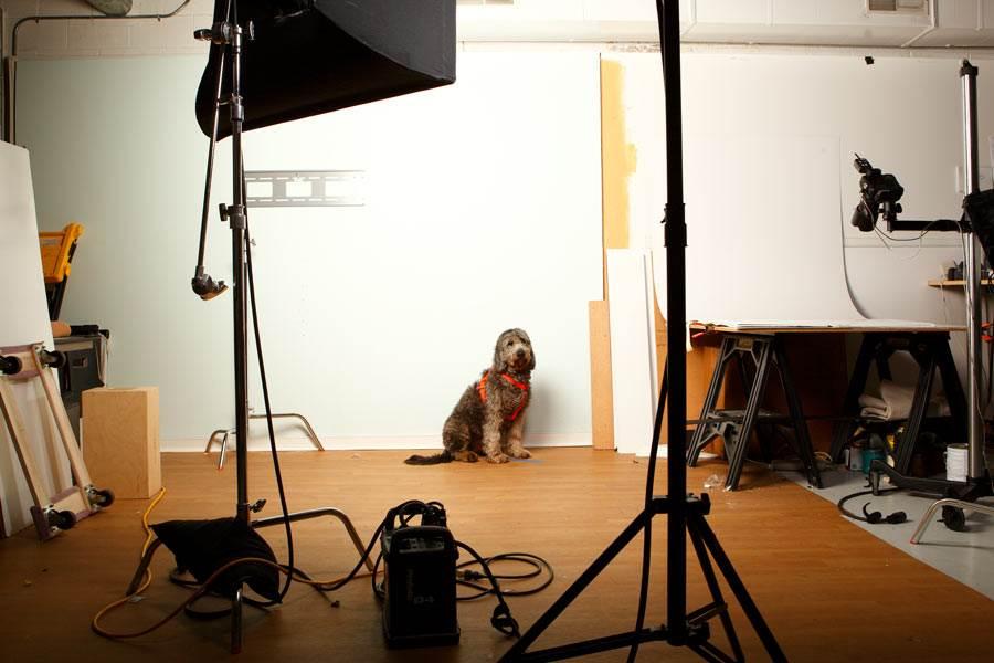 Nina in studio