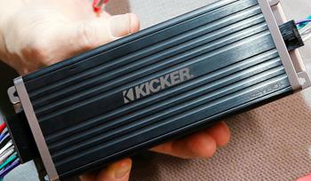 Our review of Kicker's KEY180.4 amplifier with automatic sound tuning