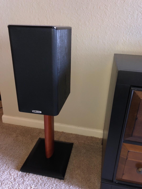 Polk Audio TSi200 (Black) Bookshelf speakers at Crutchfield
