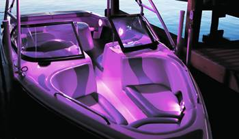 Take the hassle out of installing LED speakers on your boat