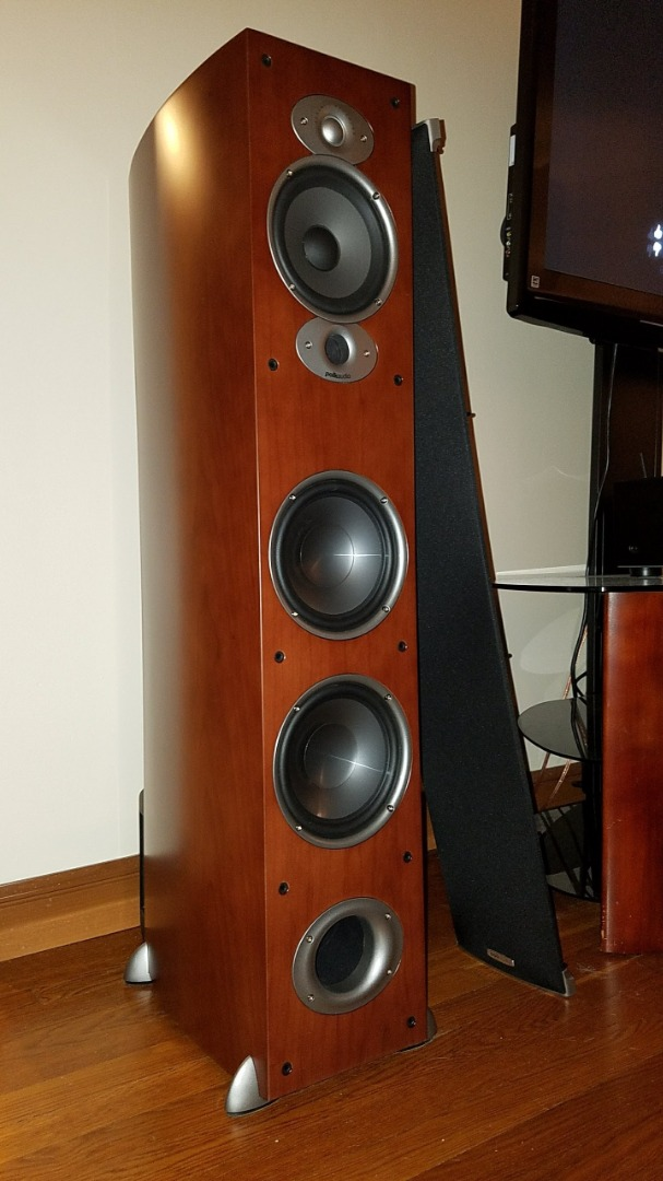 Polk Audio RTi A7 (Cherry) Floor-standing speaker at Crutchfield