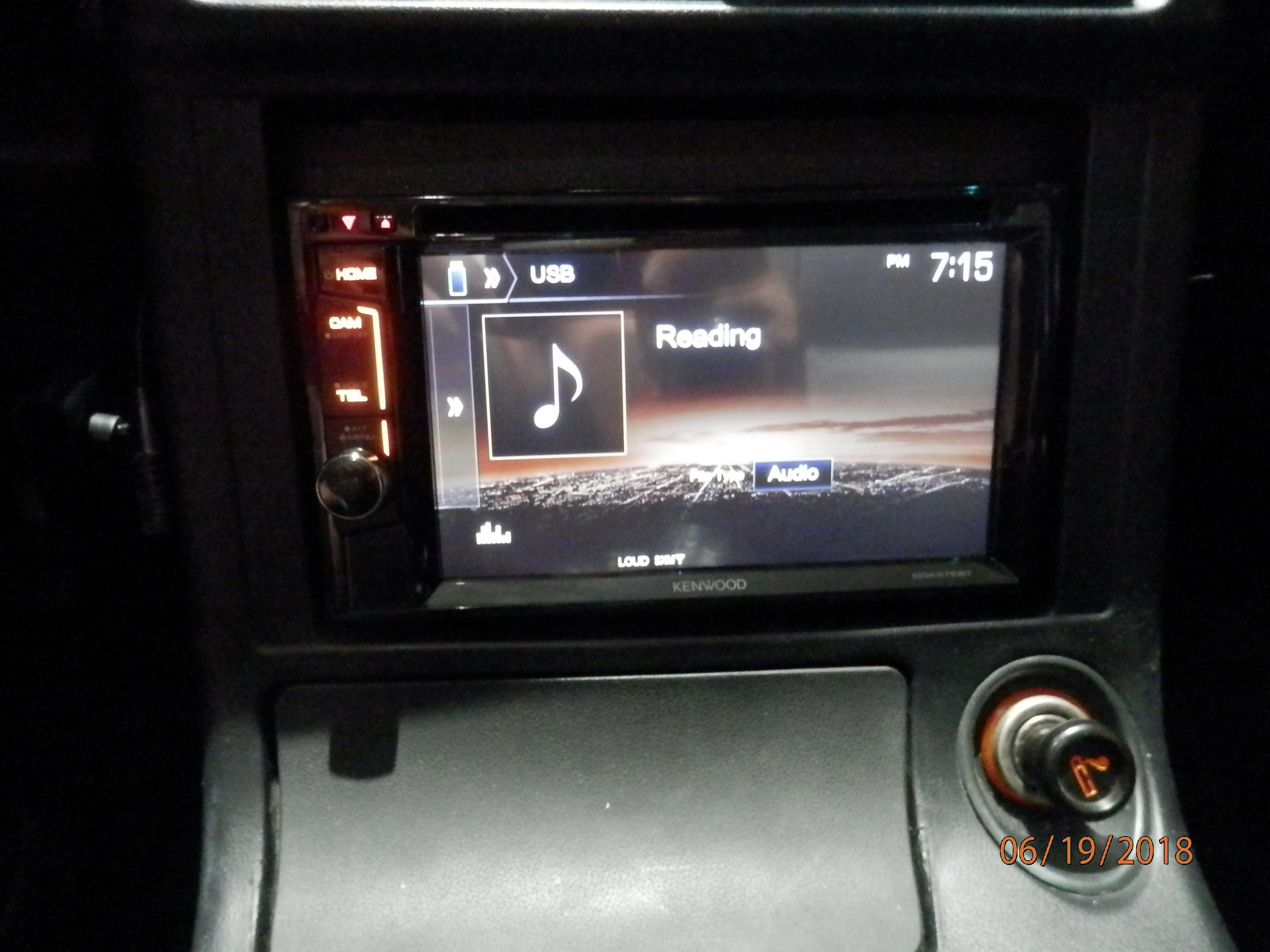 Kenwood DDX375BT DVD receiver at Crutchfield
