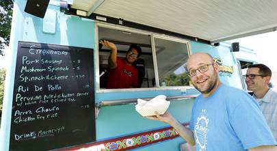 Serving up awesome sound in a local food truck