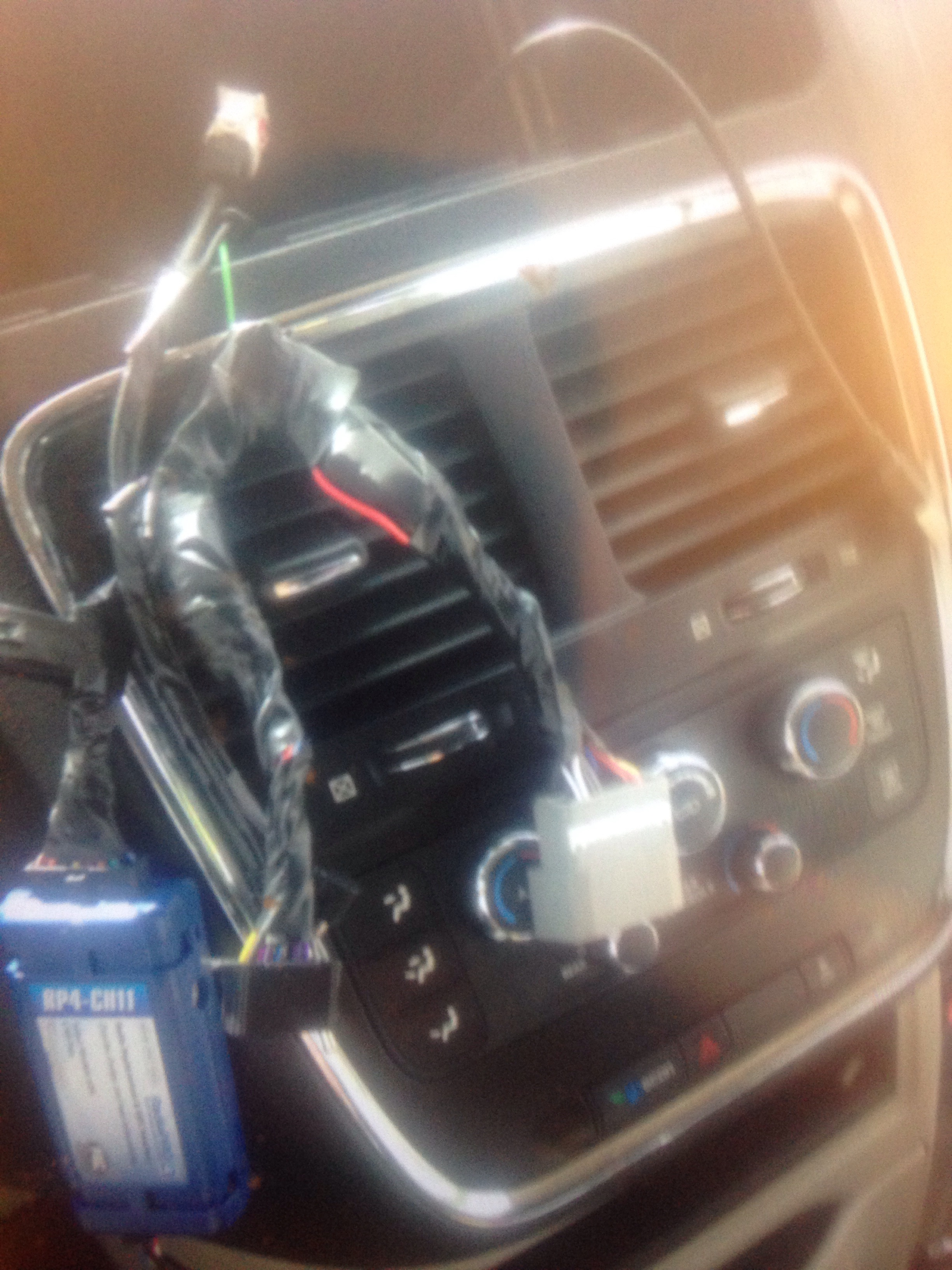 PAC RP4-CH11 Wiring Interface Connect a new car stereo and retain