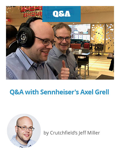 Q&A with Sennheiser's Axel Grell