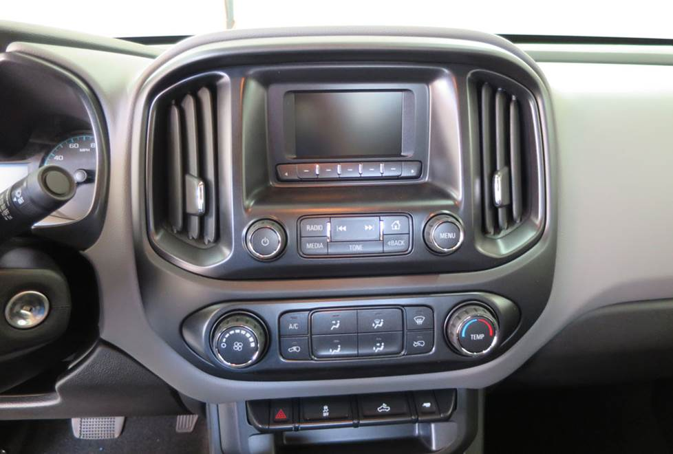 chevy colorado factory radio