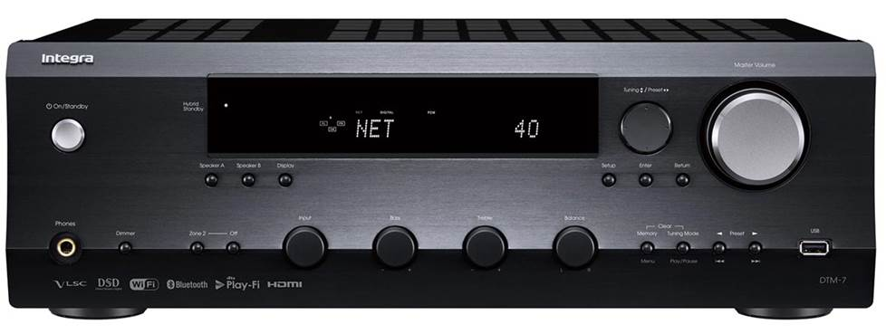 Integra DTM-7 Stereo receiver