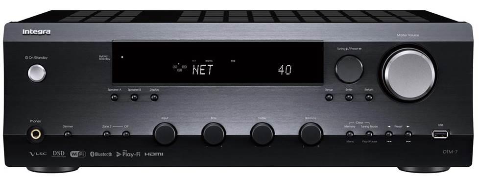 Integra DTM-7 Stereo receiver