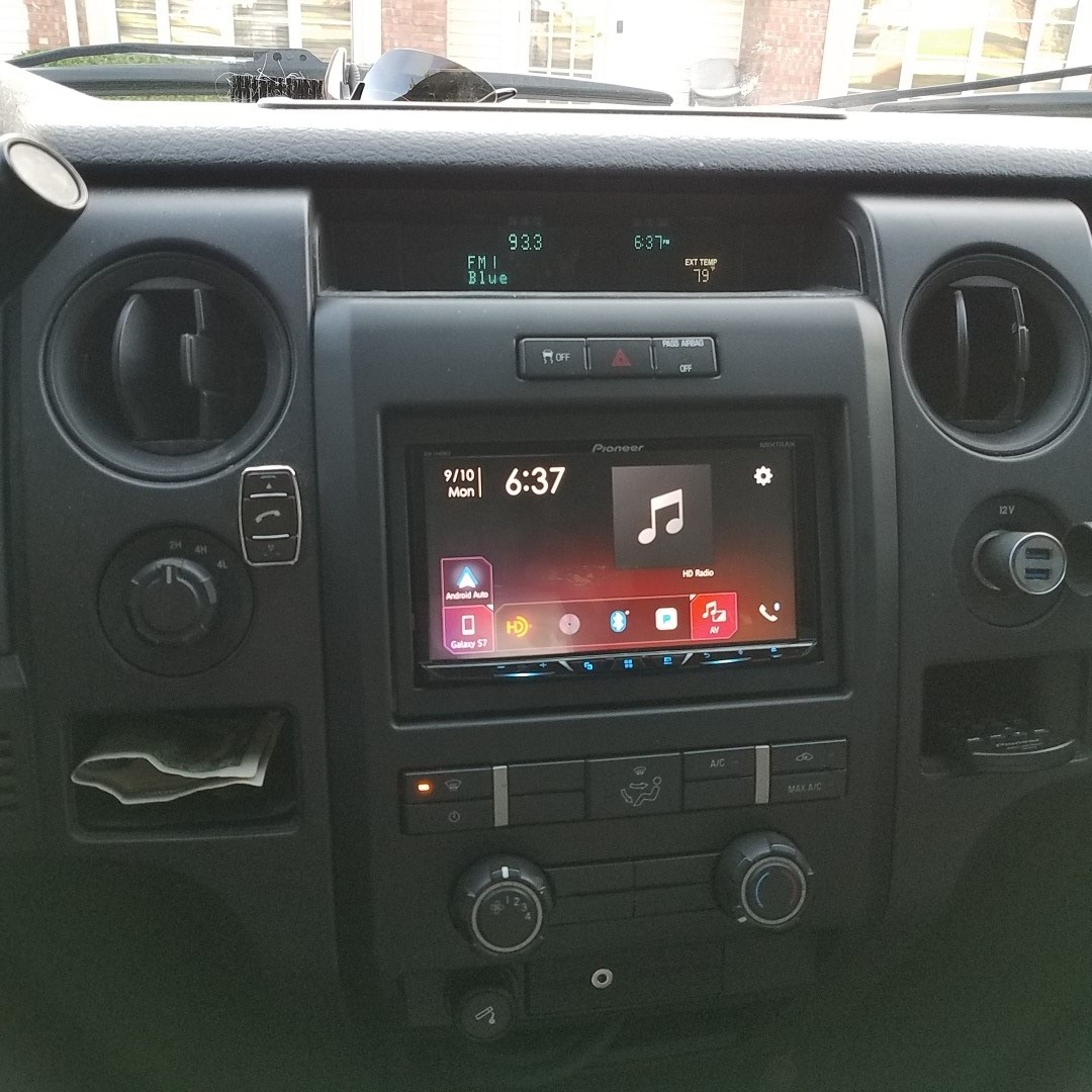 Pioneer AVH-2440NEX DVD receiver at Crutchfield