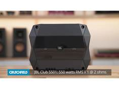 Video: JBL Club car amplifiers