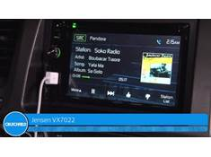 Video: Demo of the Jensen VX7022 navigation receiver