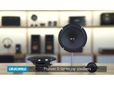 Video: Pioneer D Series car speakers