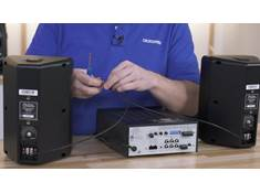 Video: Wiring commercial speakers in parallel