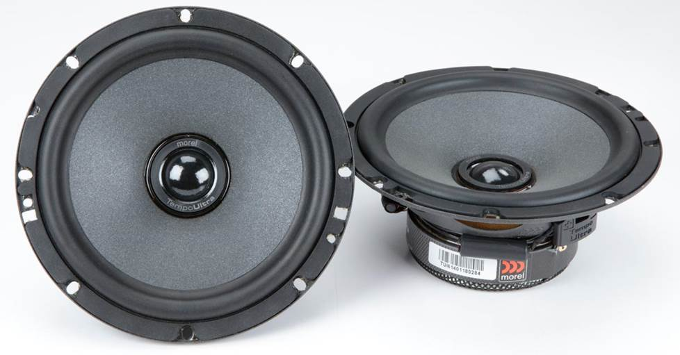 Morel Tempo Ultra Series car speakers