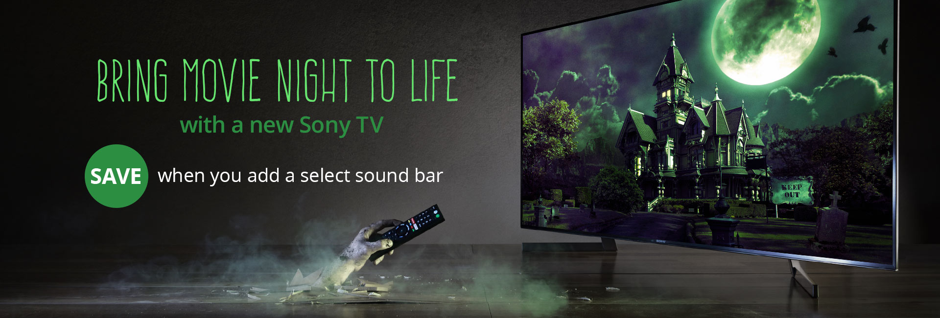 Bring movie night to life with a new Sony TV