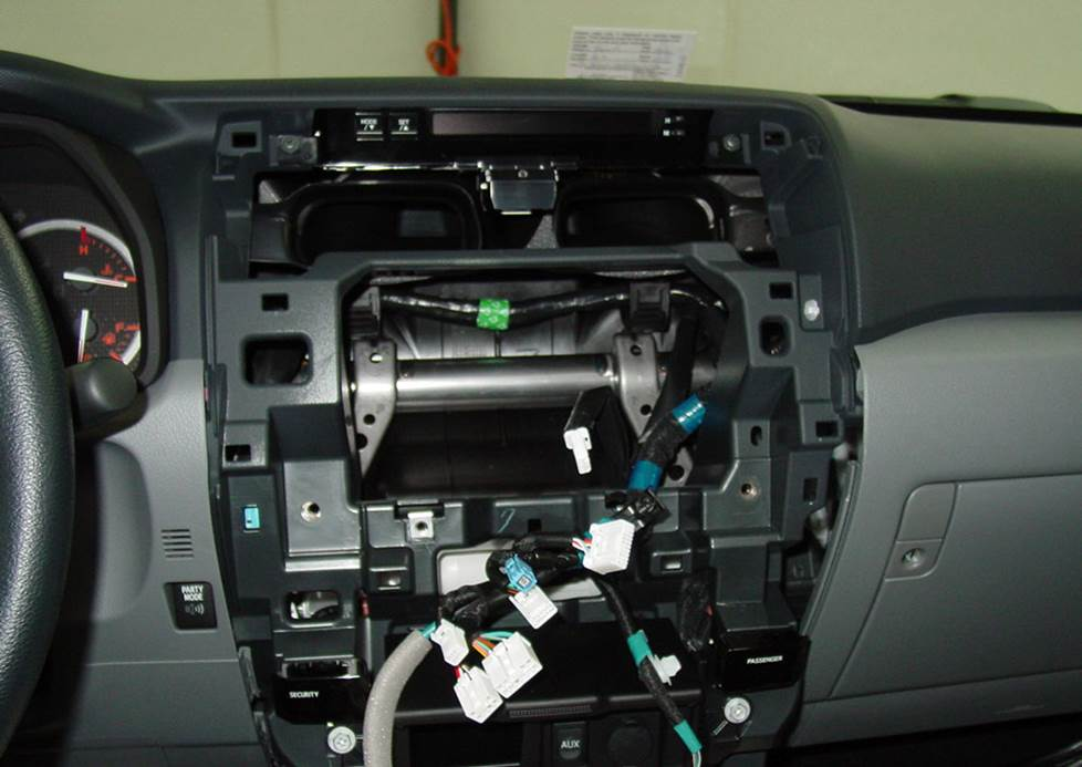 toyota 4runner radio cavity