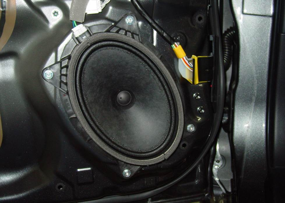 toyota 4runner front door speaker
