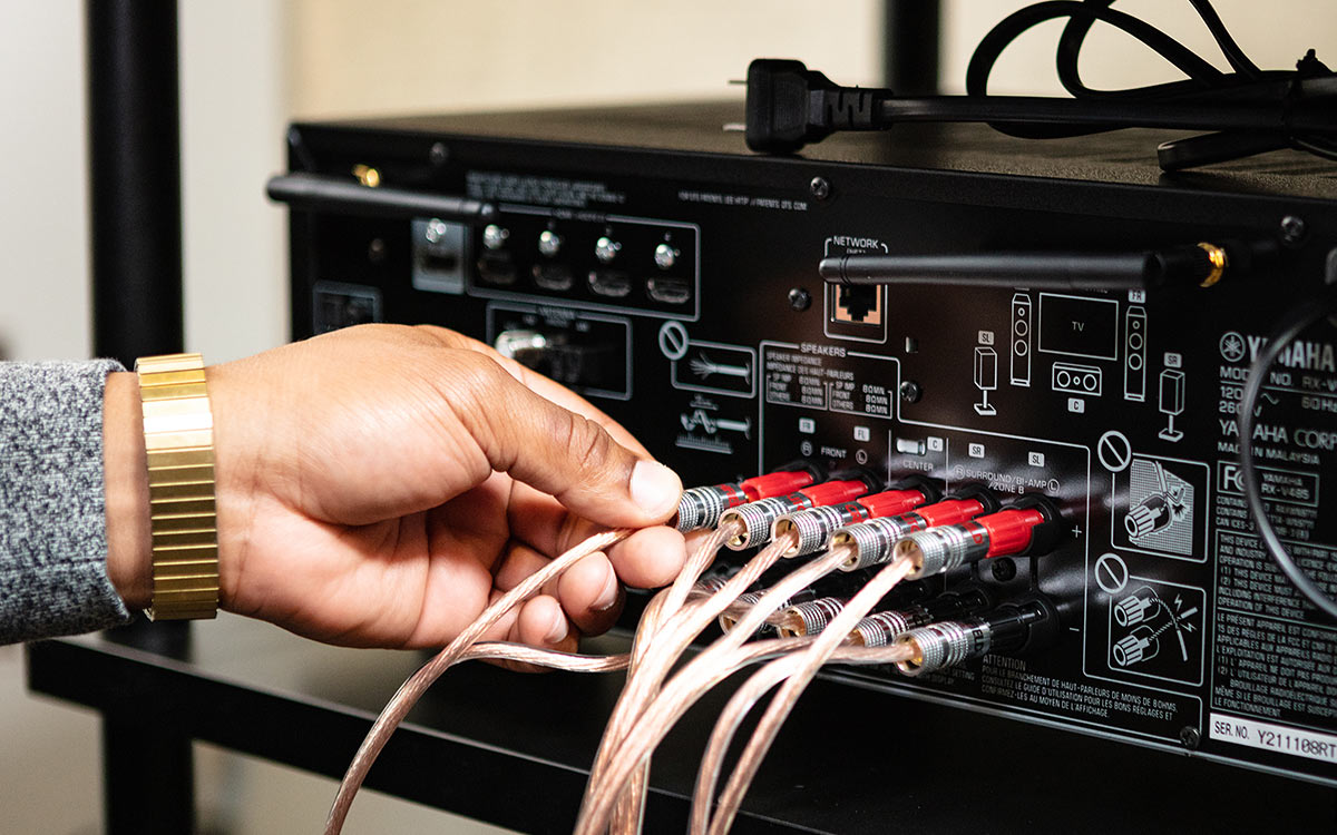 How To Set Up Your Home Theater Receiver Audio Wiring Speakers Connecting