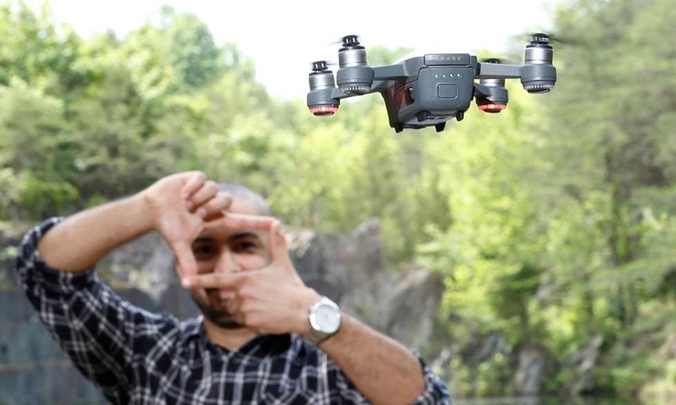 Crutchfield Advisor Carlos and DJI Mavic drone