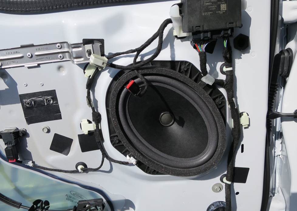 ford f-150 front door speaker
