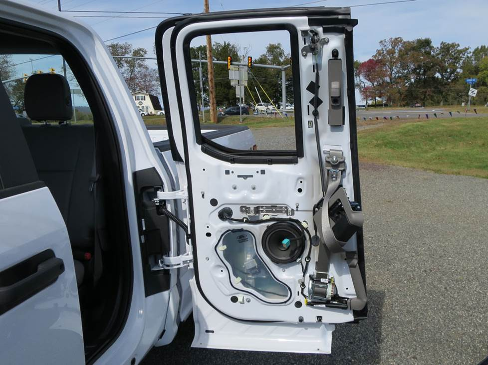 ford f-150 rear door