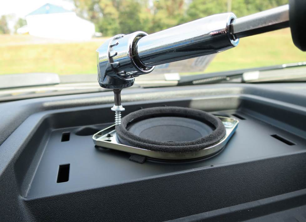 ford f-150 center dash speaker