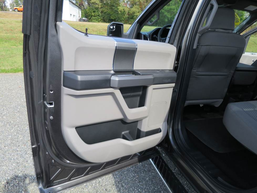 ford f-150 super crew rear door