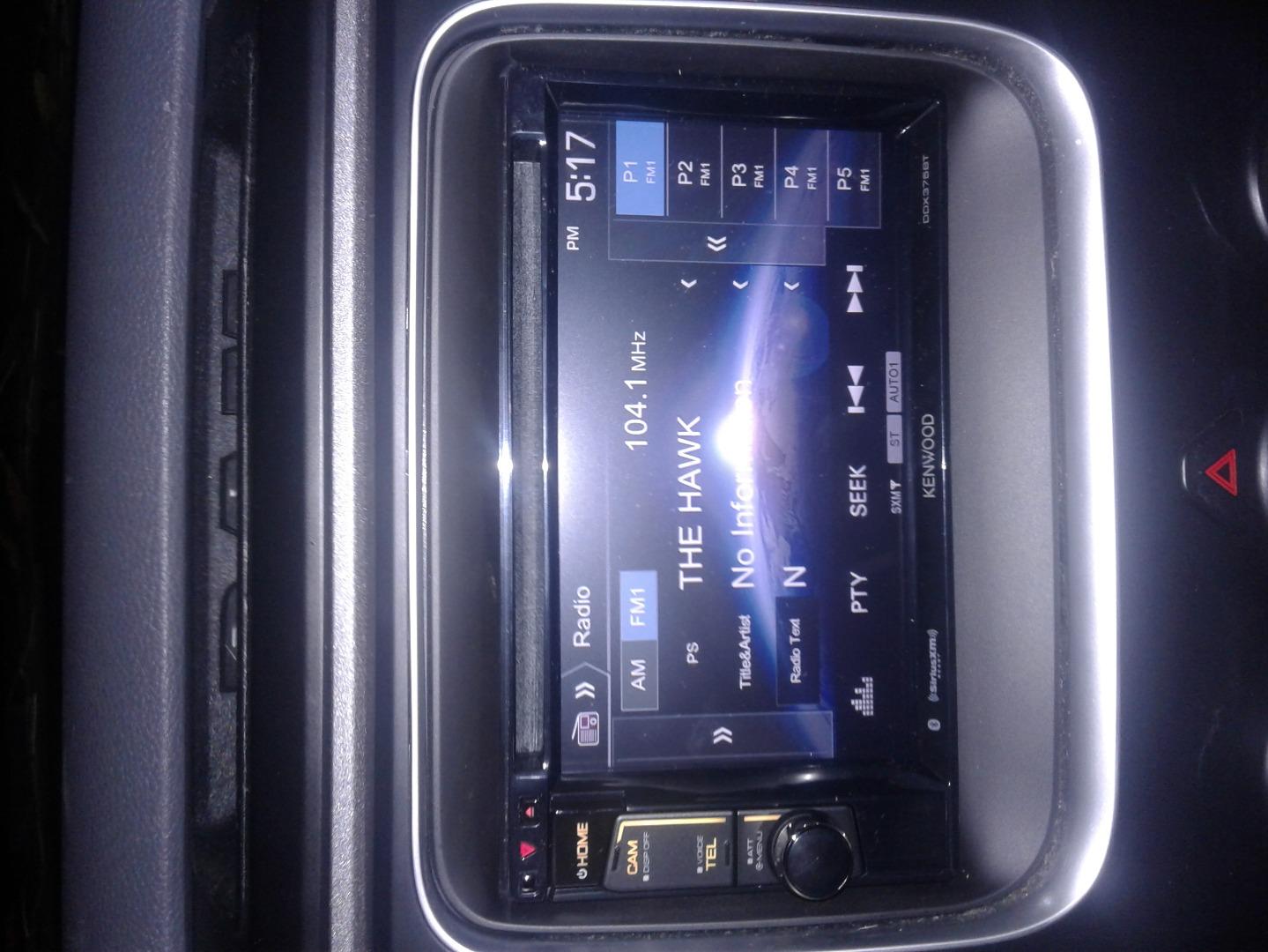 Kenwood DDX375BT DVD receiver at Crutchfield
