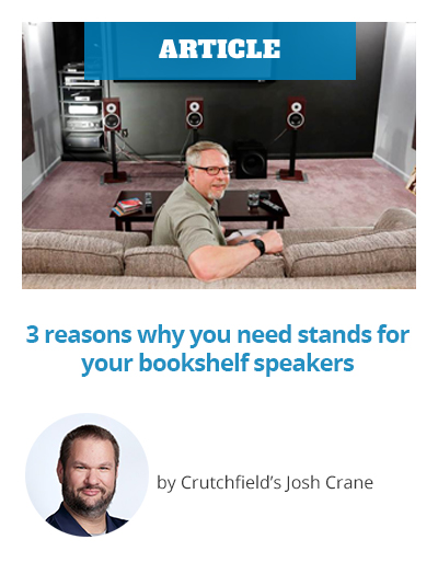 ARTICLE: 3 reasons why you need stands for your bookshelf speakers