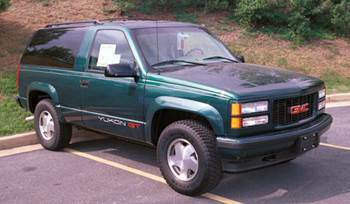 1995-1999 Chevrolet Suburban/Tahoe and GMC Yukon