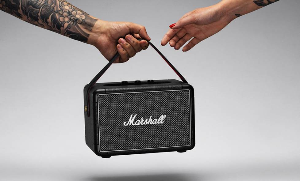 Marshall Kilburn II bluetooth loud speaker