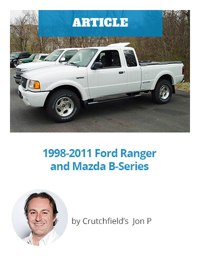 Vehicle Profile: 1998-2011 Ford Ranger and Mazda B-Series