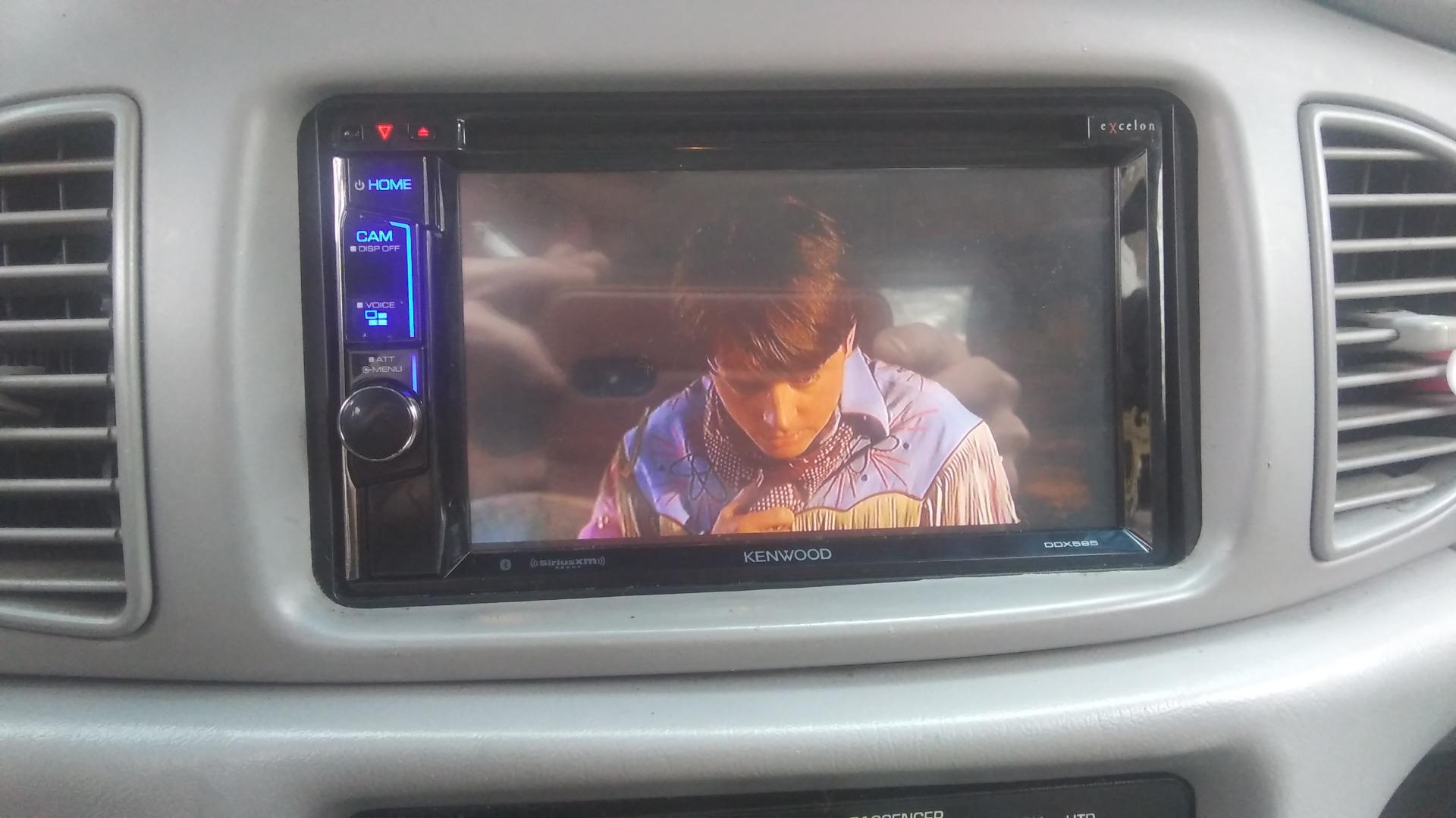 Kenwood Excelon DDX595 DVD receiver at Crutchfield