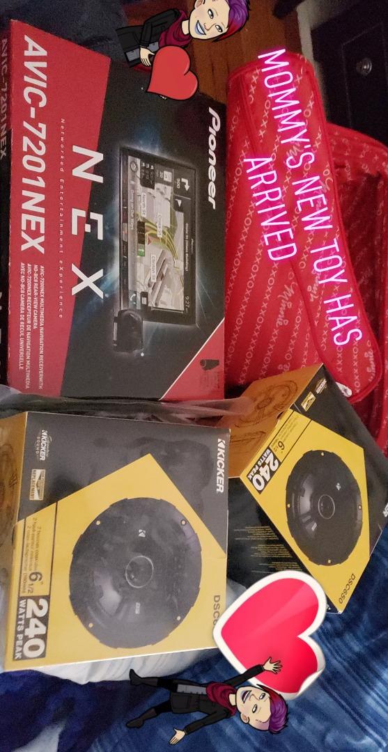 Pioneer AVIC-7201NEX Package Includes AVIC-7200NEX