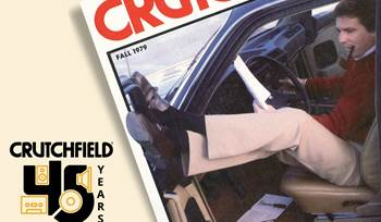 Looking back at Crutchfield's car audio installation history