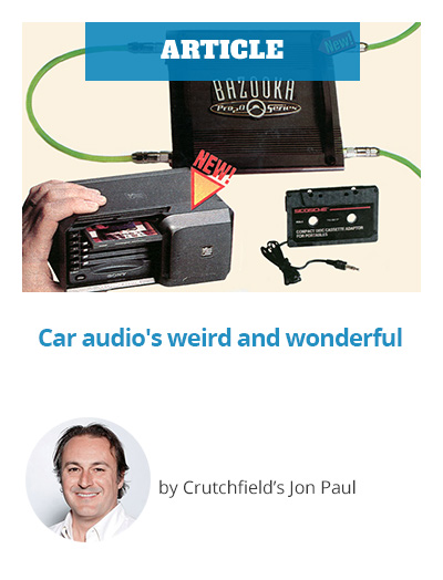 ARTICLE: Car audio's weird and wonderful