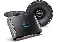 deals on select car speakers, subs, and amps
