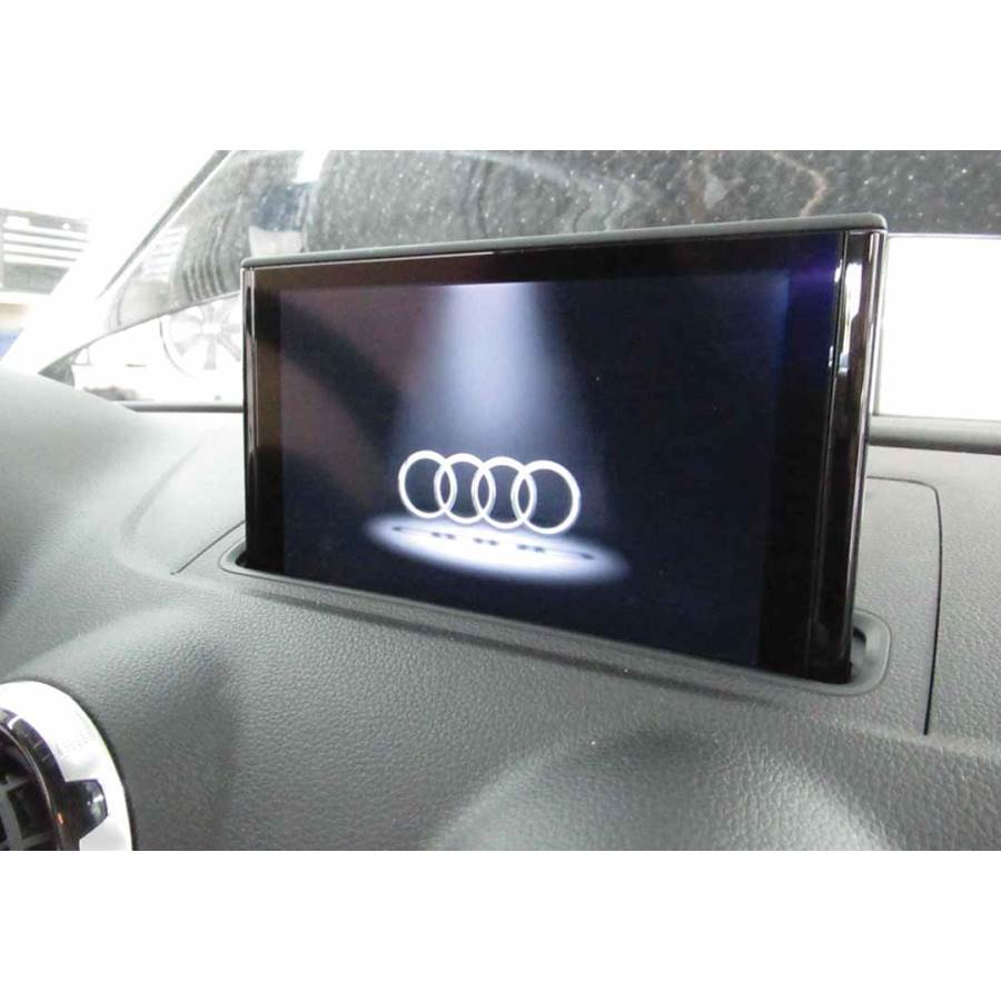 2018 Audi S3 Navigation screen