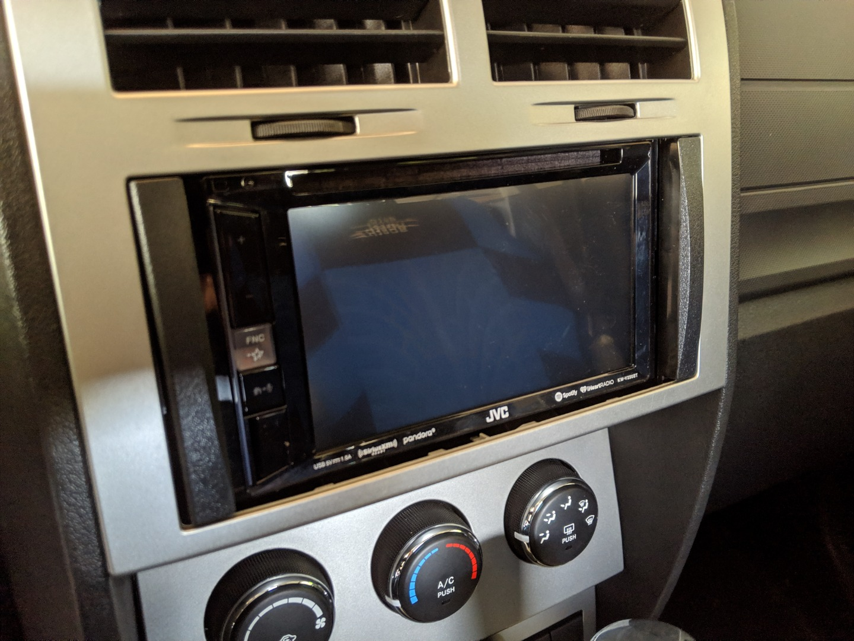 JVC KW-V250BT DVD receiver at Crutchfield