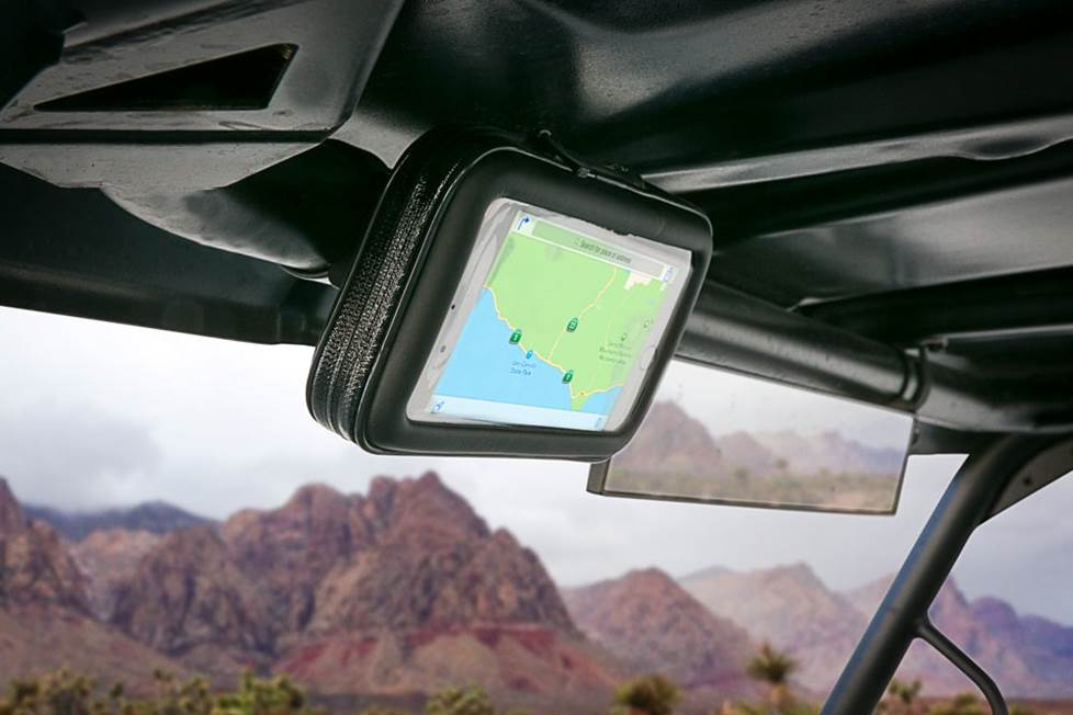 Waterproof phone mount
