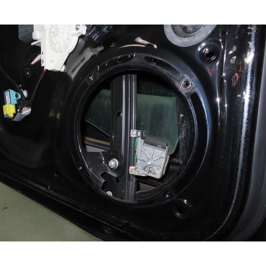 2013 Audi A5 Front door woofer removed