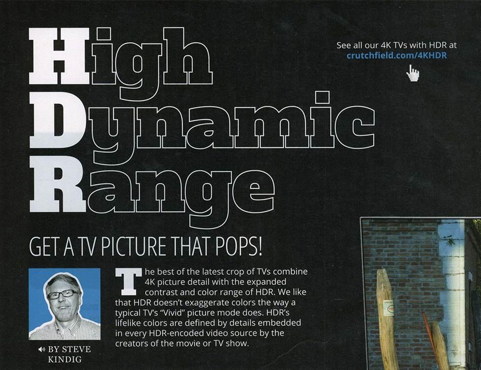 High Dynamic Range