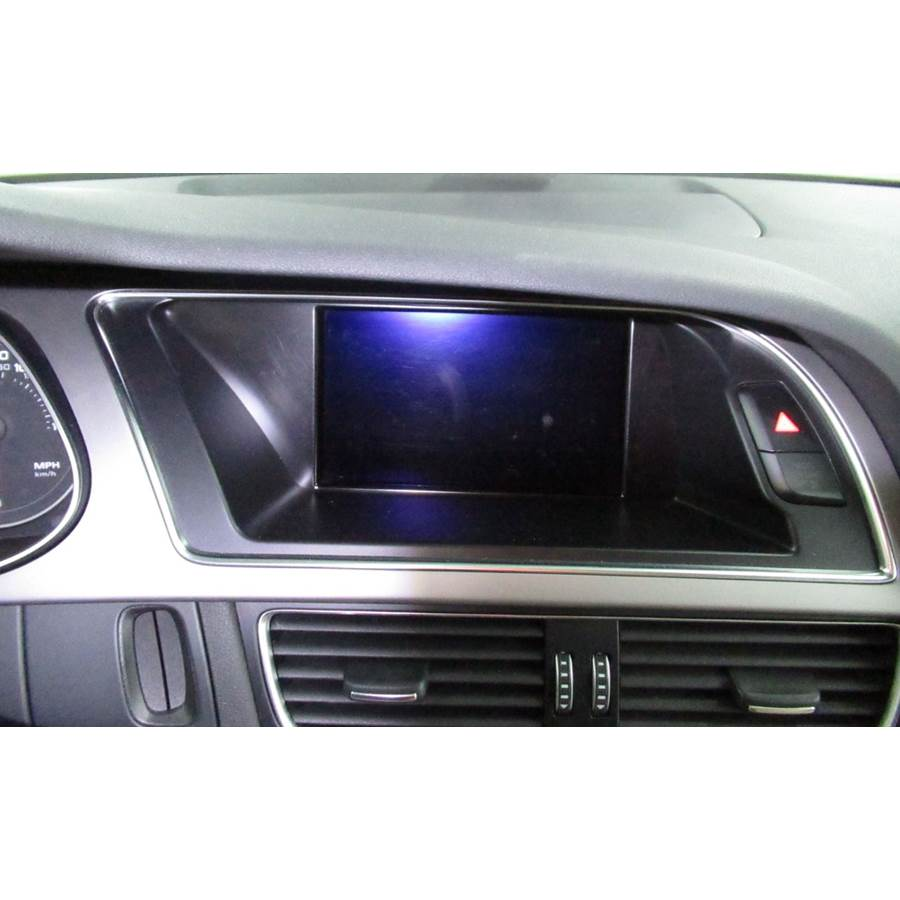 2015 Audi Allroad Navigation screen