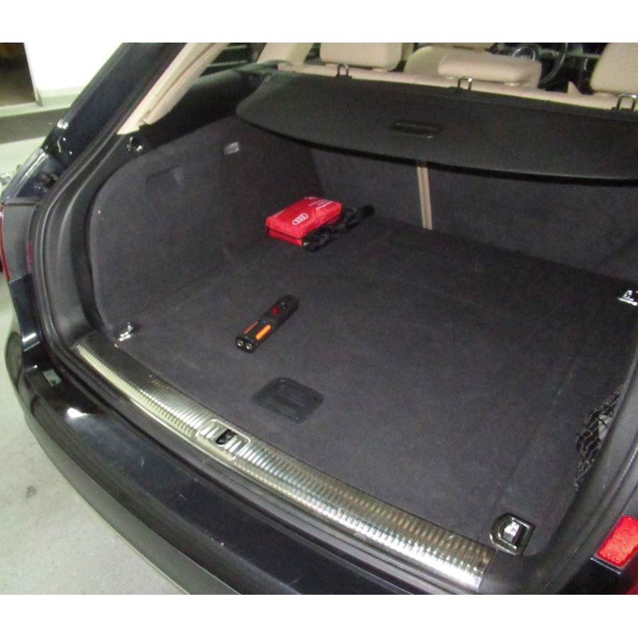 2015 Audi Allroad Factory amplifier location