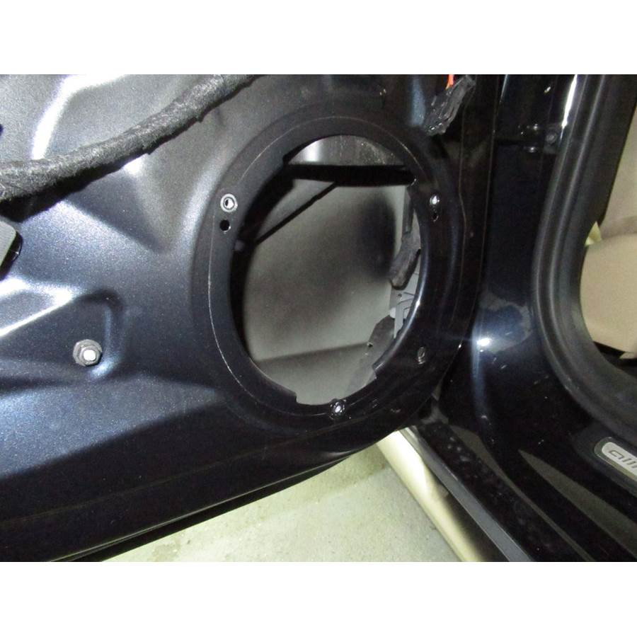2015 Audi Allroad Rear door woofer removed
